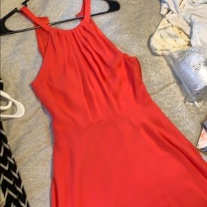 Coral express dress